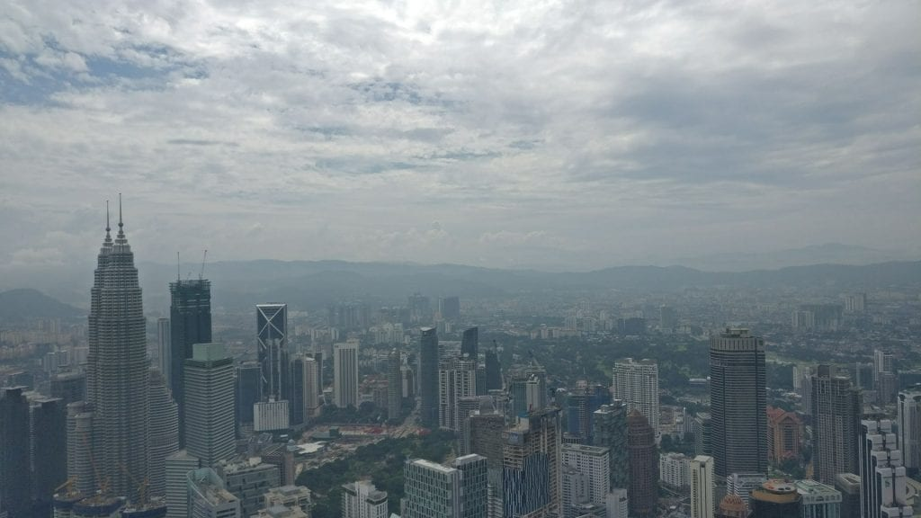 Kuala Lumpur Aussicht Menara Tower