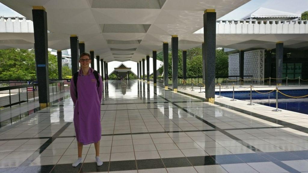 Kuala Lumpur National Mosque Gewand
