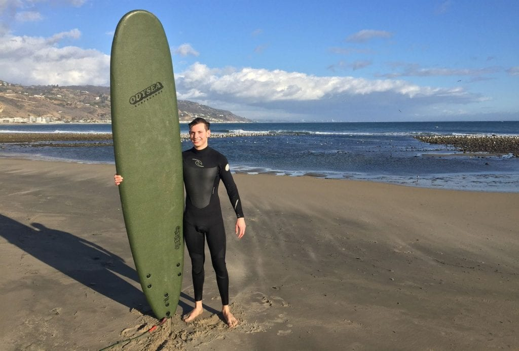 Los Angeles Surfen Sommer