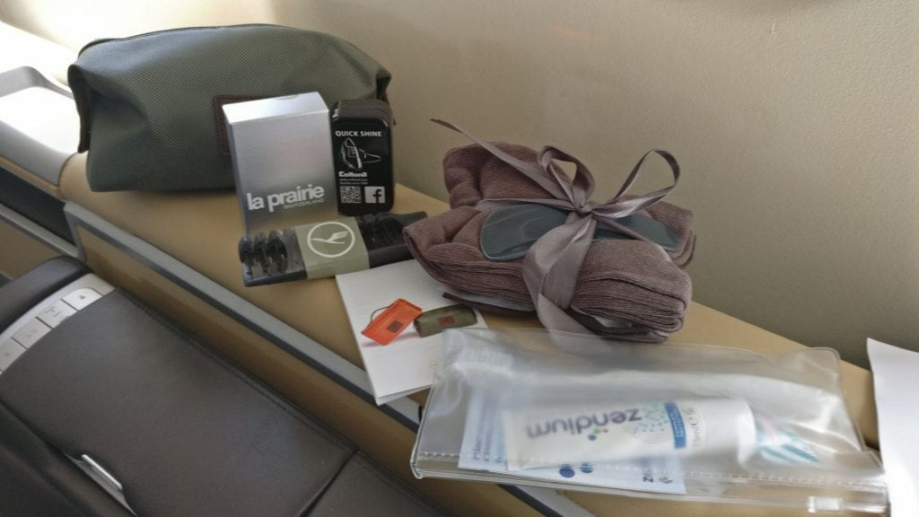 Lufthansa First Class Amenity Kit 2