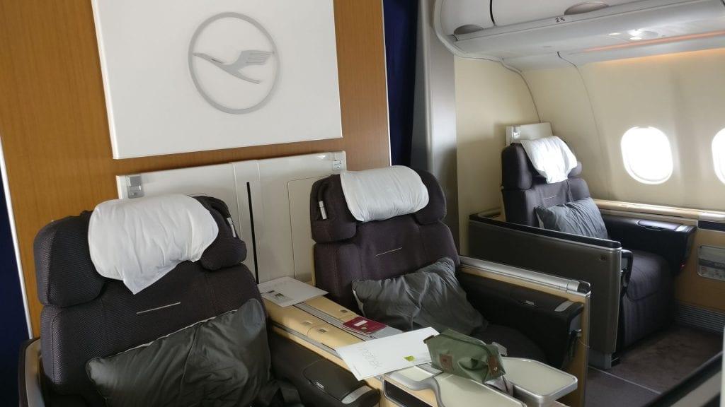 Lufthansa First Class Cabin 4