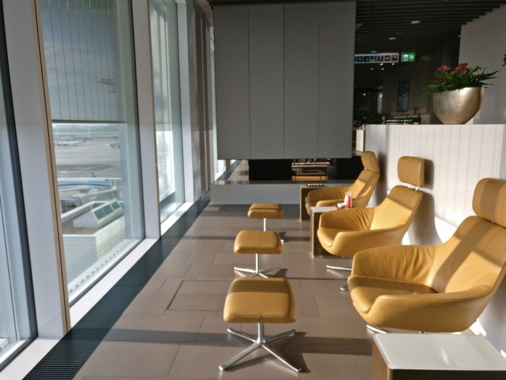 Lufthansa First Class Lounge Munich Seating 11