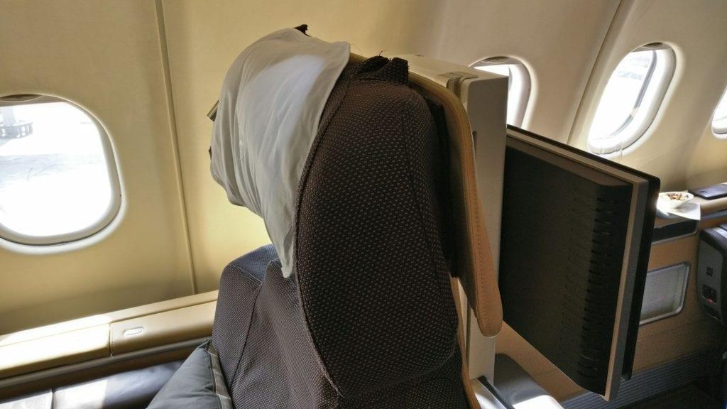 Lufthansa First Class Seat 11