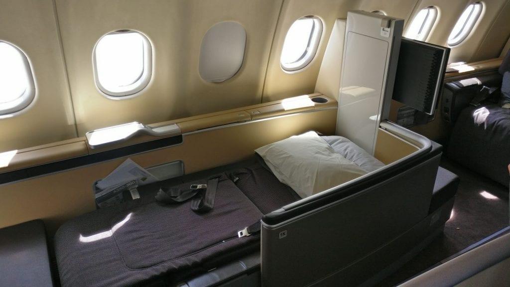 Lufthansa First Class Seat 12