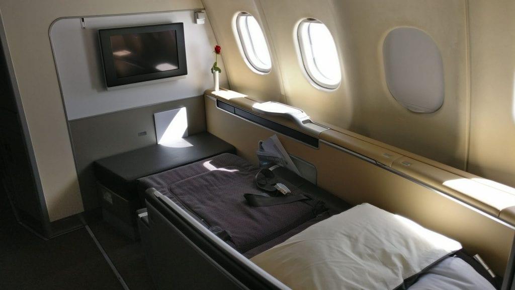 Lufthansa First Class Seat 13