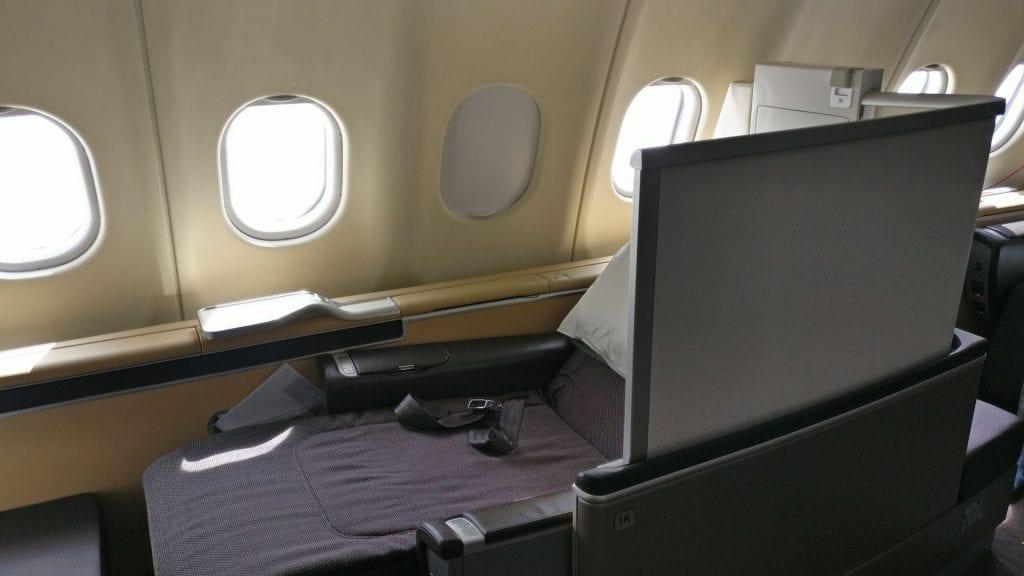 Lufthansa First Class Seat 14