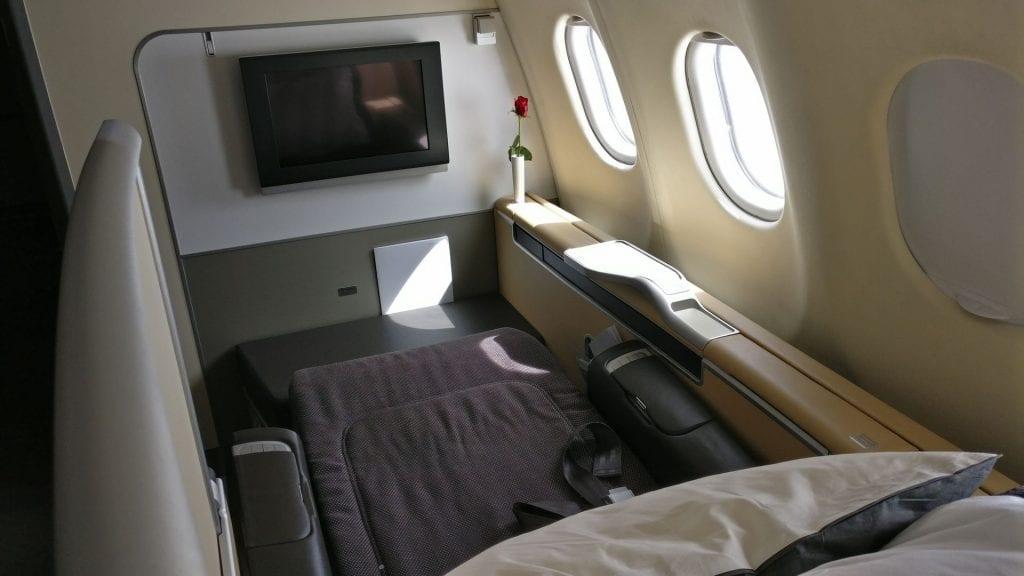 Lufthansa First Class Seat 15