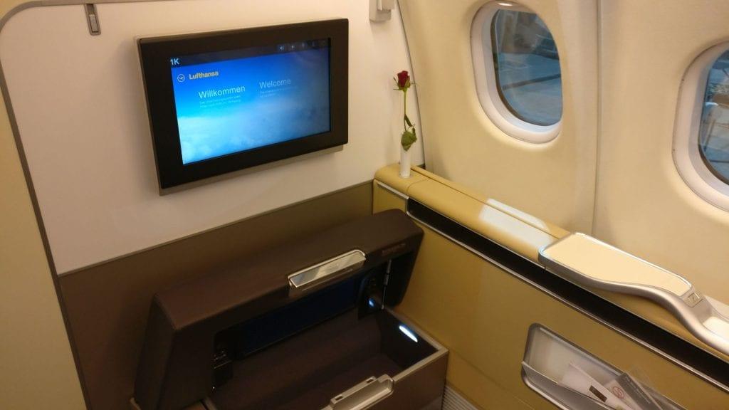 Lufthansa First Class Seat 16