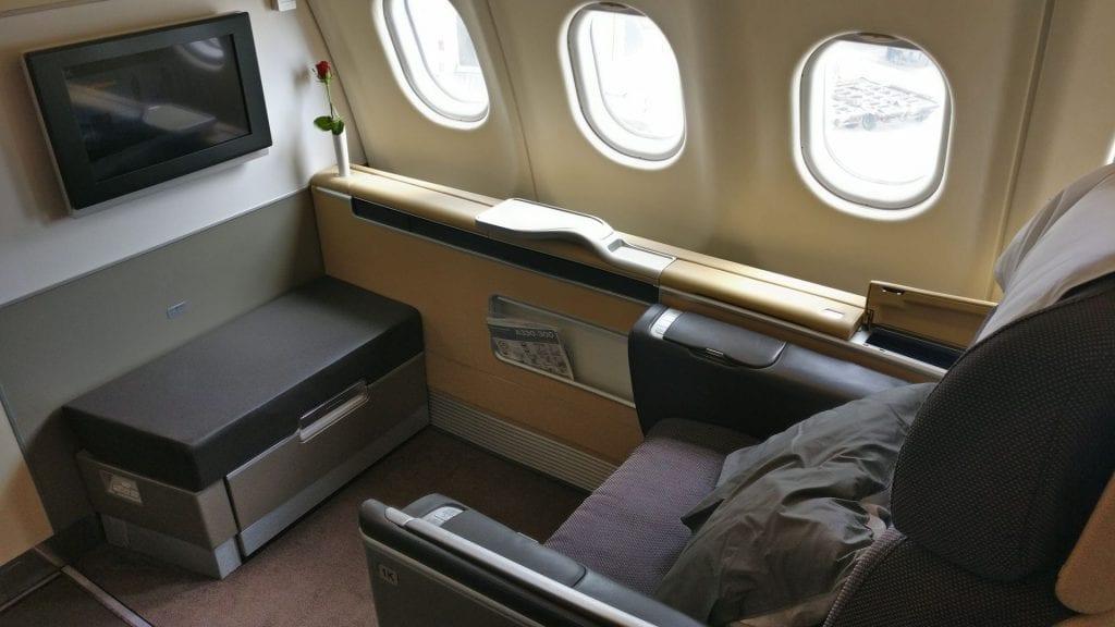 Lufthansa First Class Seat 4