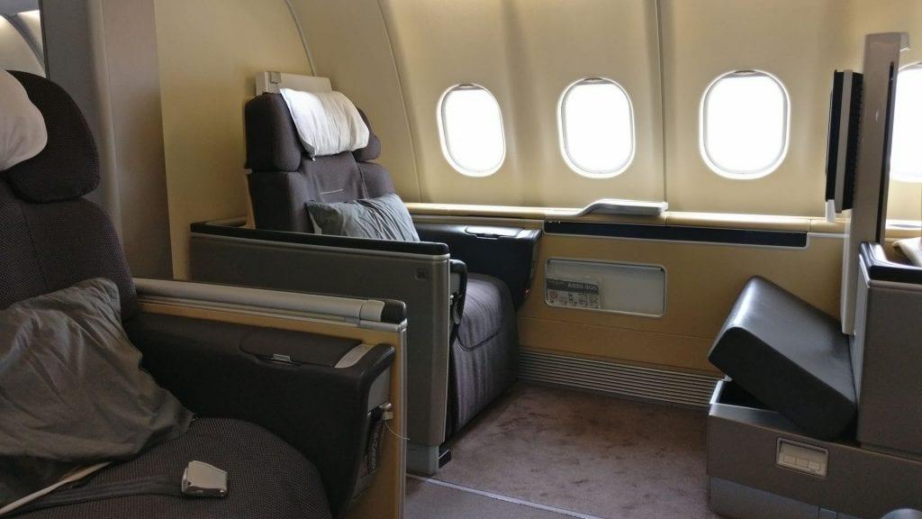 Lufthansa First Class Seat 5
