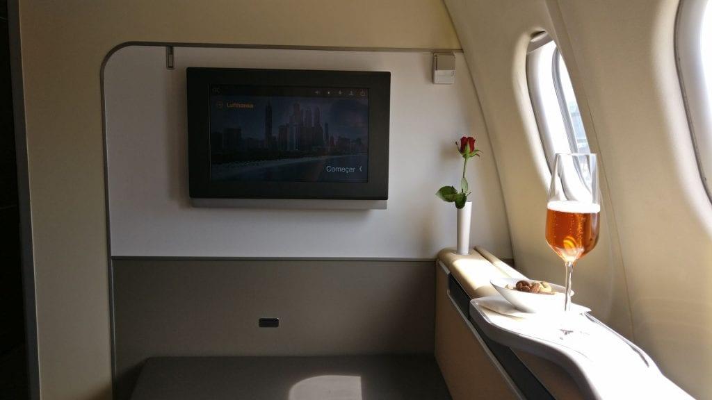 Lufthansa First Class Seat 9