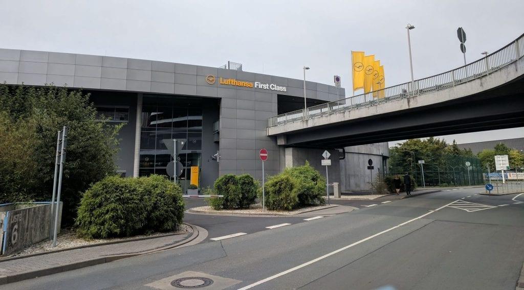 Lufthansa First Class Terminal Frankfurt Gebäude