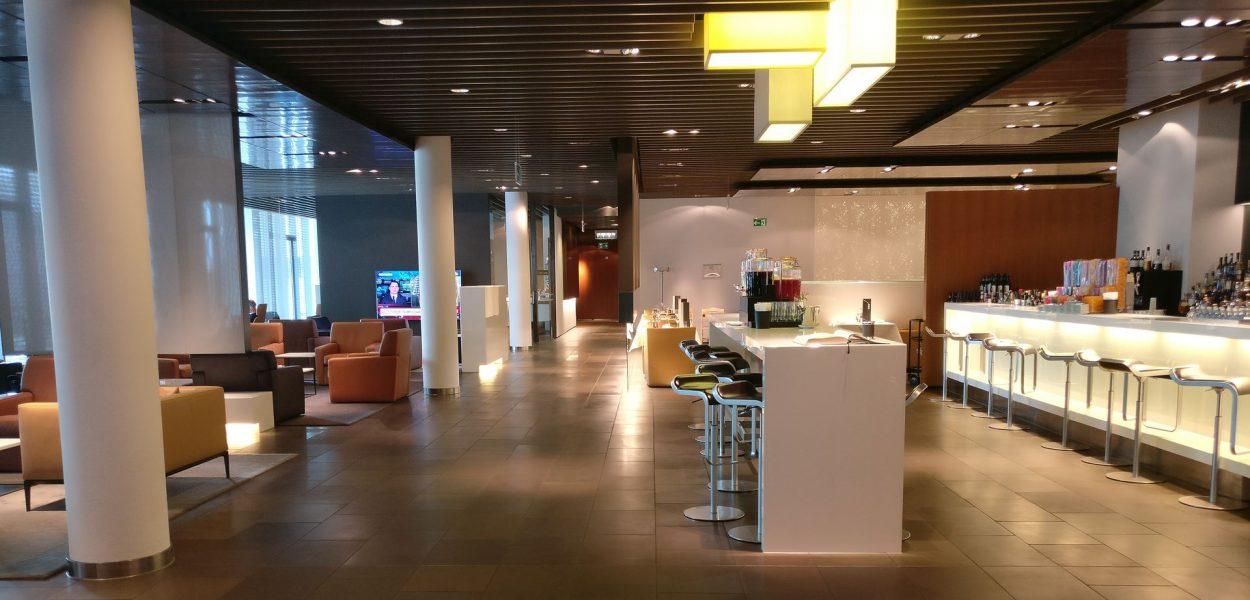 Lufthansa First Class Terminal Frankfurt Raum