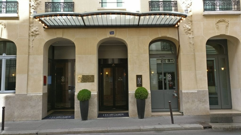 M Gallery L Echiquier Opera Paris Eingang