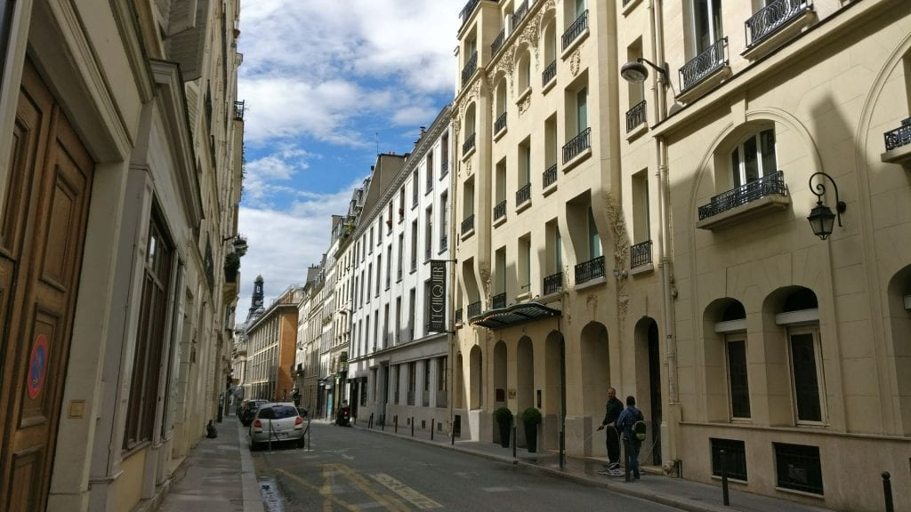 M Gallery L Echiquier Opera Paris Lage Straße