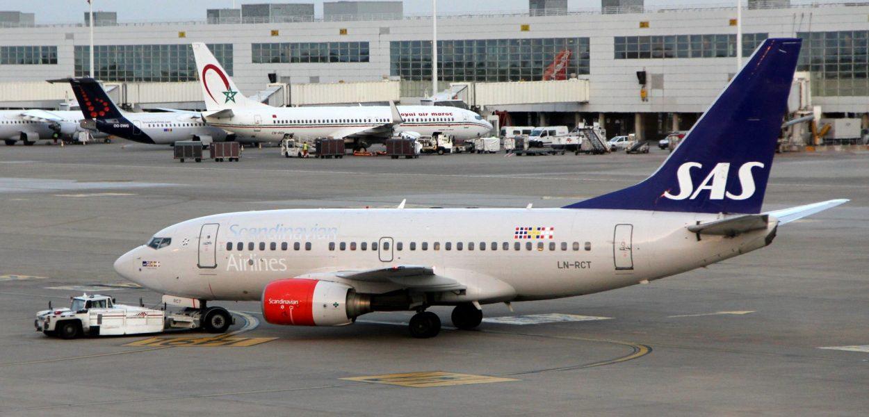 SAS Boeing 737