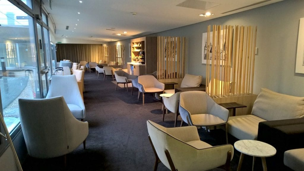 Seating Area Star Alliance Lounge Paris 3
