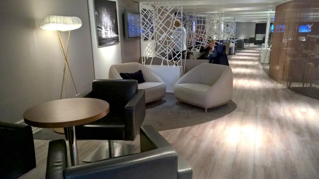 Seating Area Star Alliance Lounge Paris 4