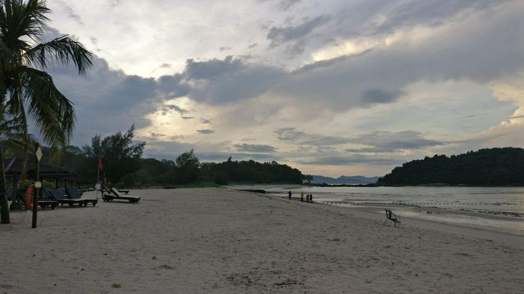 Sonnenaufgang auf Langkawi