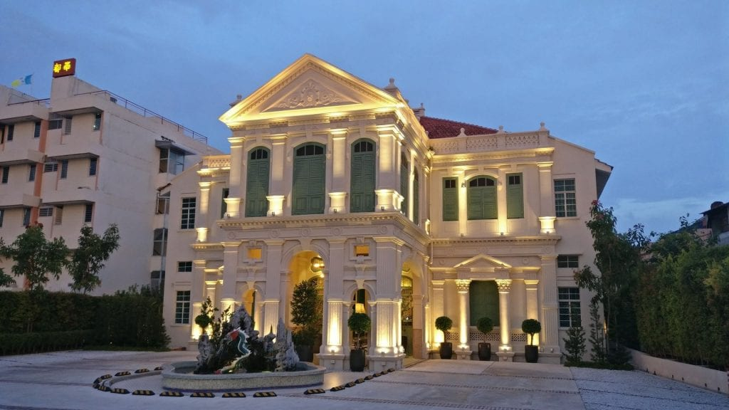 The Edison George Town Penang Haus bei Nacht