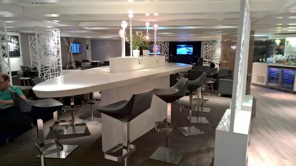 Working Area Star Alliance Lounge Paris
