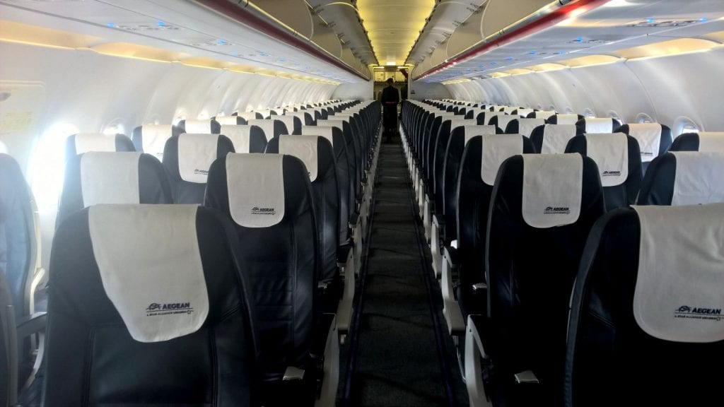 aegean airlines economy class airbus a320