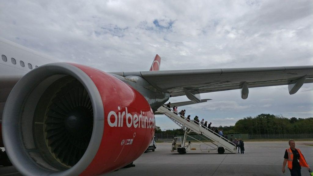 airberlin A330 Landung Berlin