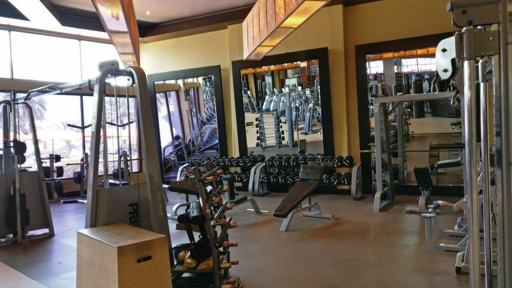 hilton abu dhabi gym