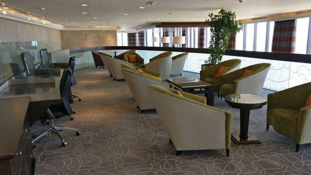 intercontinental abu dhabi club lounge obergeschoss