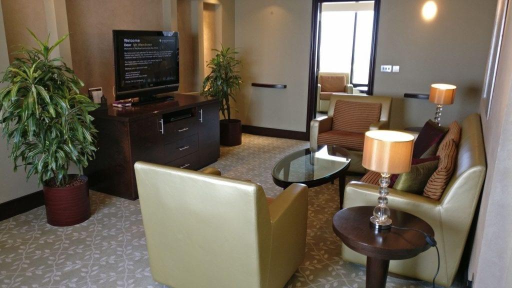 intercontinental abu dhabi emirates suite wohnzimmer