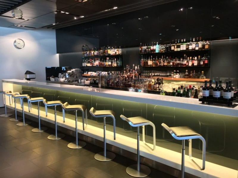 lufthansa first class lounge A Bar