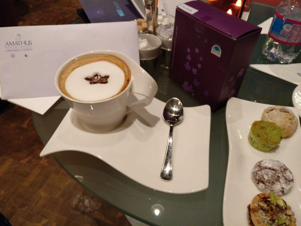 Amathus Beach Hotel Limassol Cappuccino