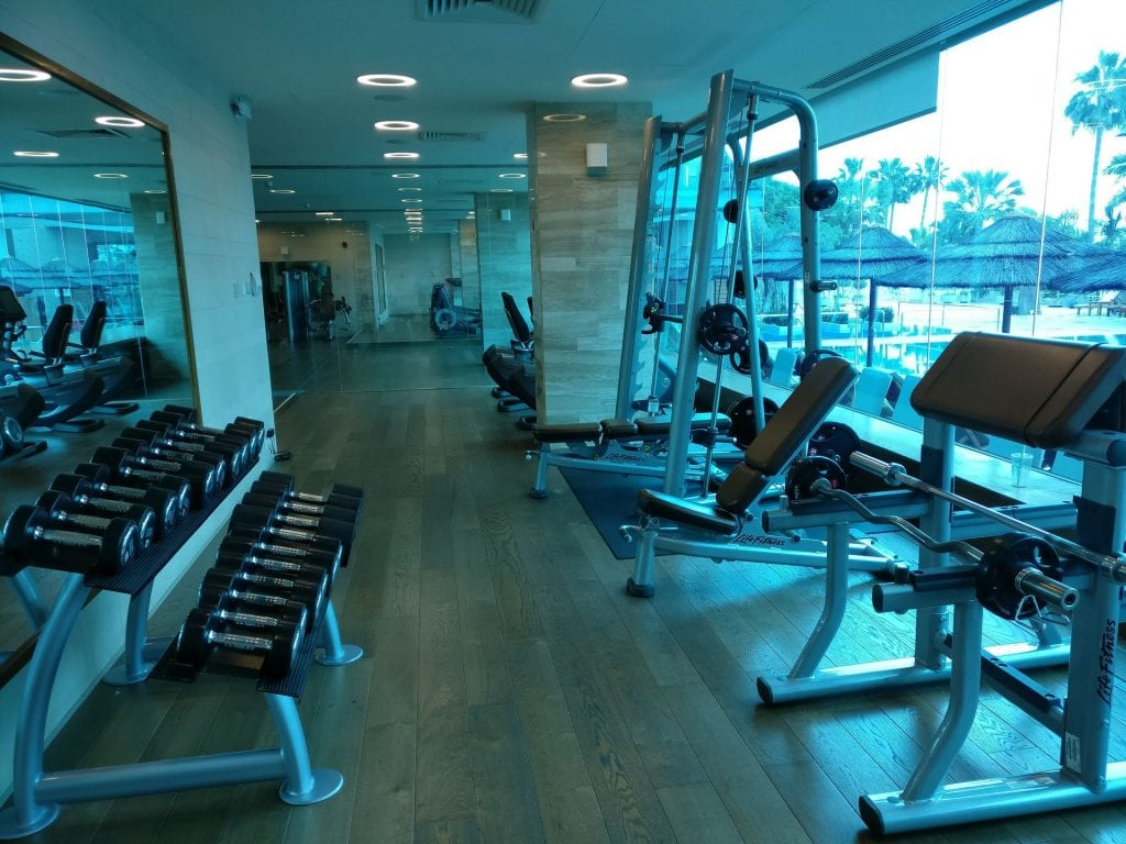 Amathus Beach Hotel Limassol Gym
