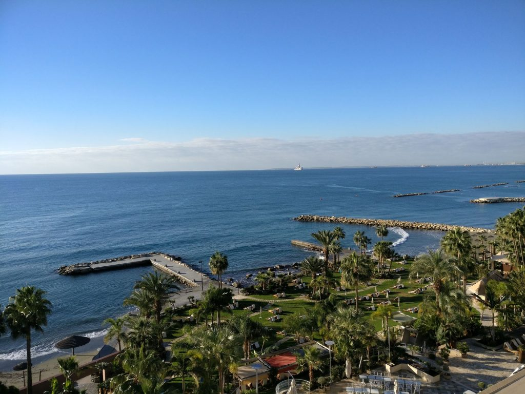 Amathus Beach Hotel Limassol Sea View Room View