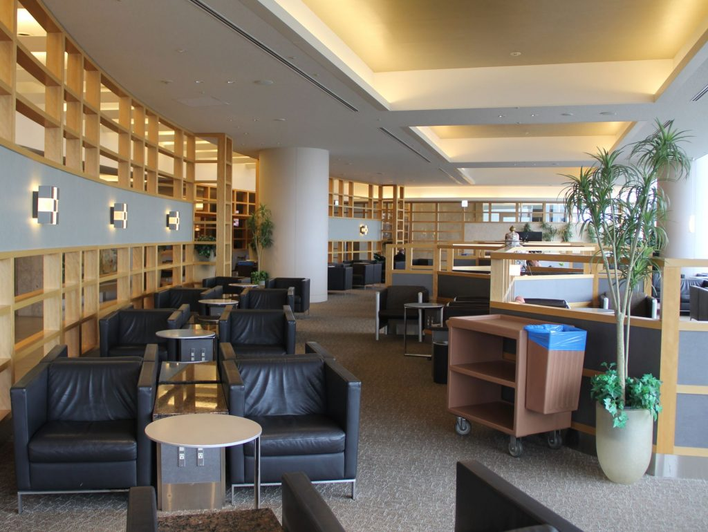 American Airlines Admirals Club Tokyo Narita Seating 3