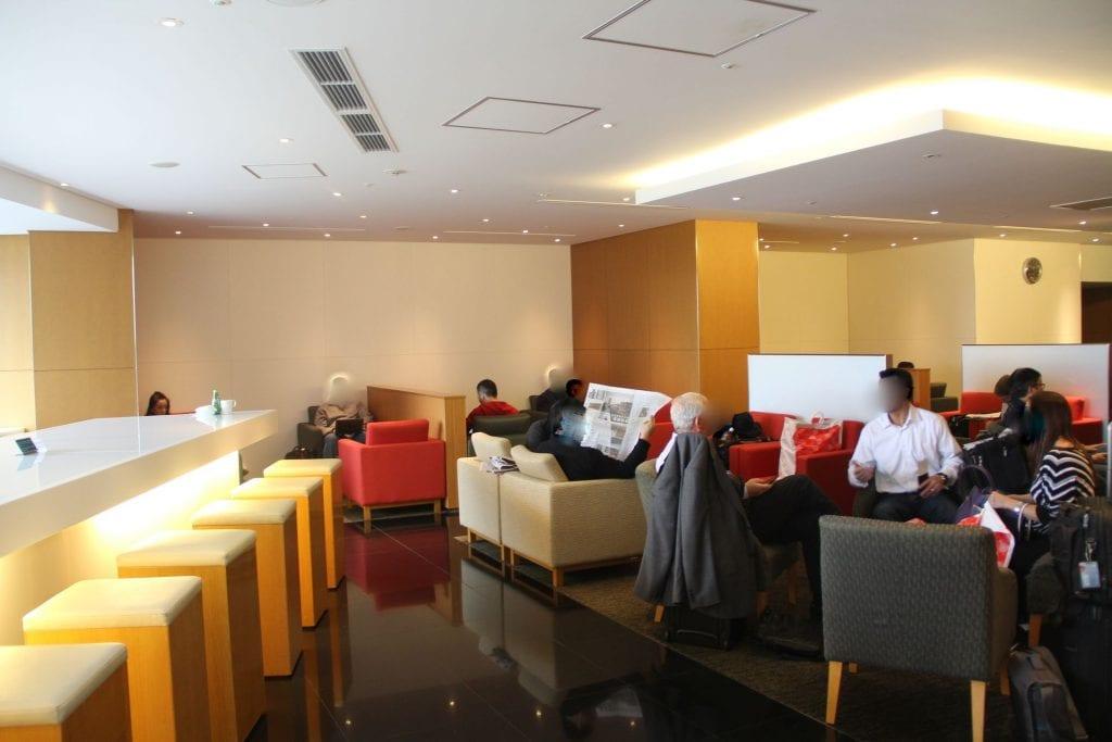 Cathay Pacific Lounge Tokyo Narita Seating 3
