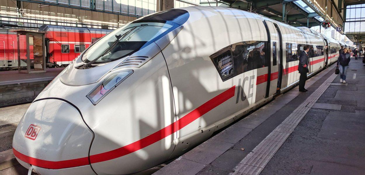 DB Bahn ICE 3 Velaro D Stuttgart