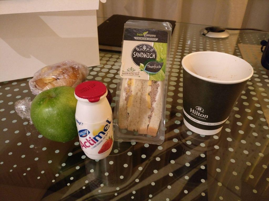 Hilton Frankfurt Airport Breakfast