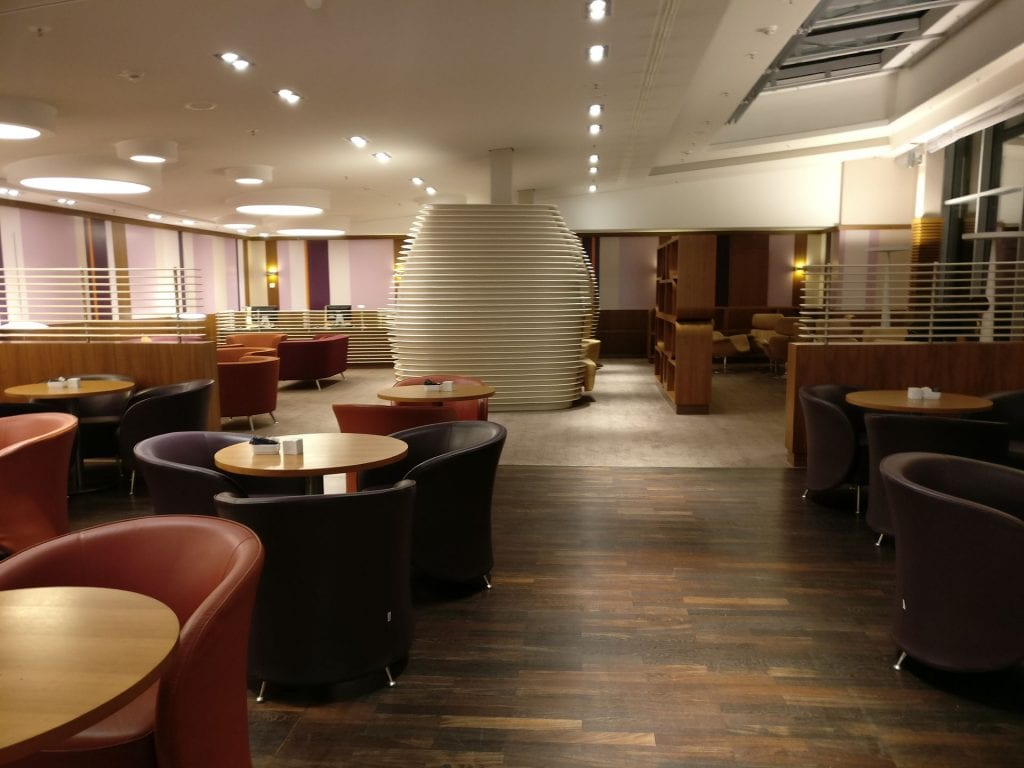 Hilton Frankfurt Airport Executive Lounge 4