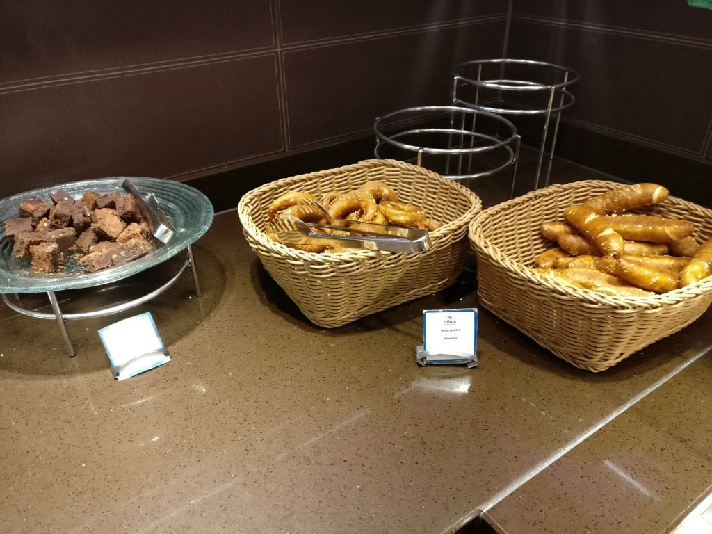 Hilton Frankfurt Airport Executive Lounge Evening Spread 3