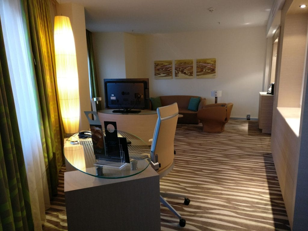 Hilton Frankfurt Airport Executive Suite