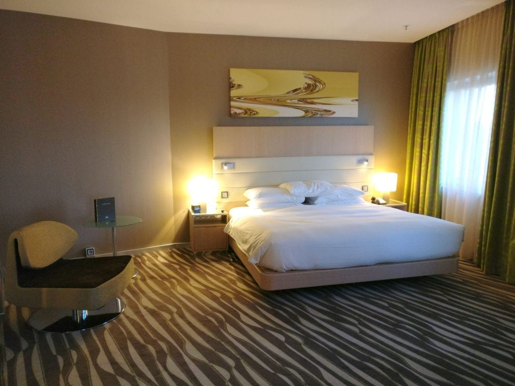 Hilton Frankfurt Airport Executive Suite Living Bedroom