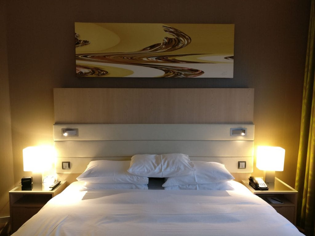 Hilton Frankfurt Airport Executive Suite Living Bedroom 2