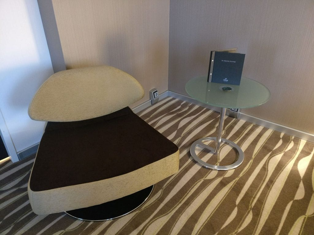 Hilton Frankfurt Airport Executive Suite Living Bedroom 4