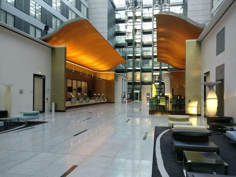 Hilton Frankfurt Airport Lobby