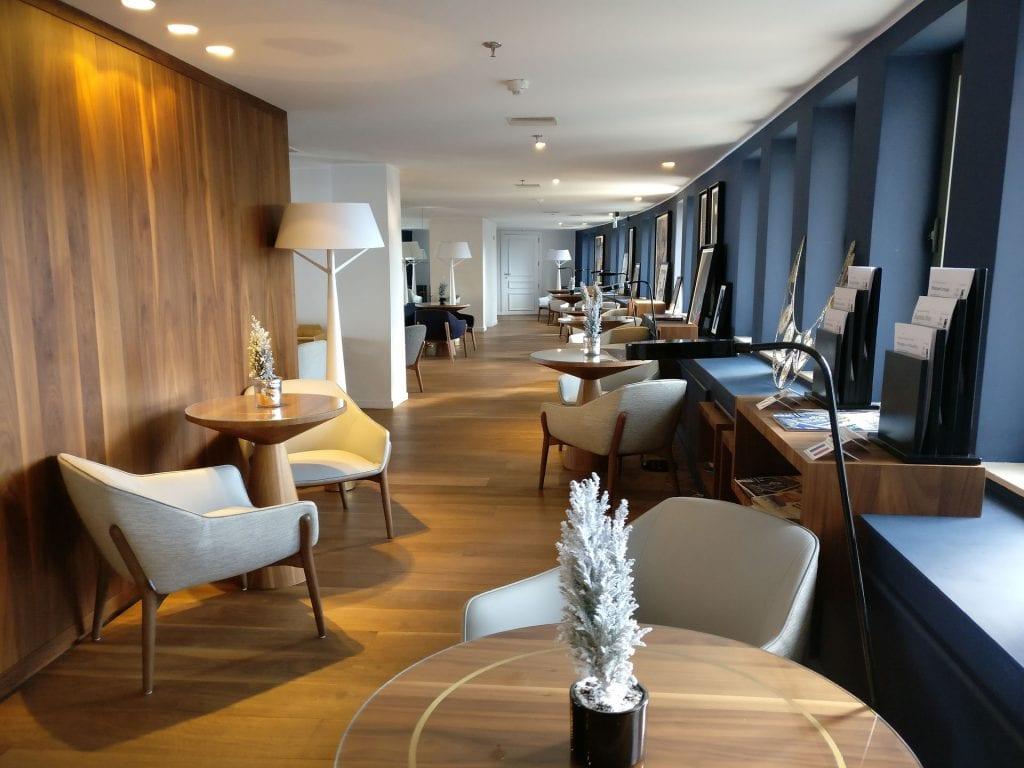 Hilton Malta Executive Lounge