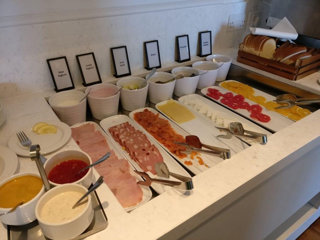 Hilton Malta Executive Lounge Breakfast