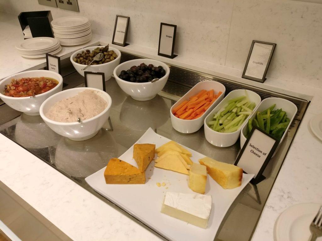 Hilton Malta Executive Lounge Evening Selection 4