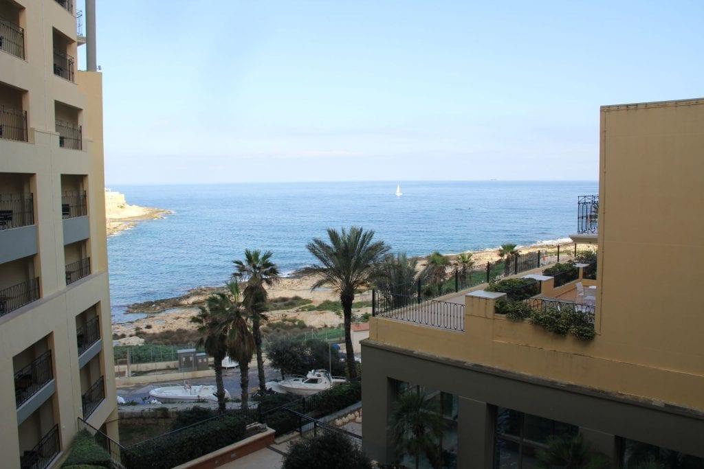 Hilton Malta Suite View