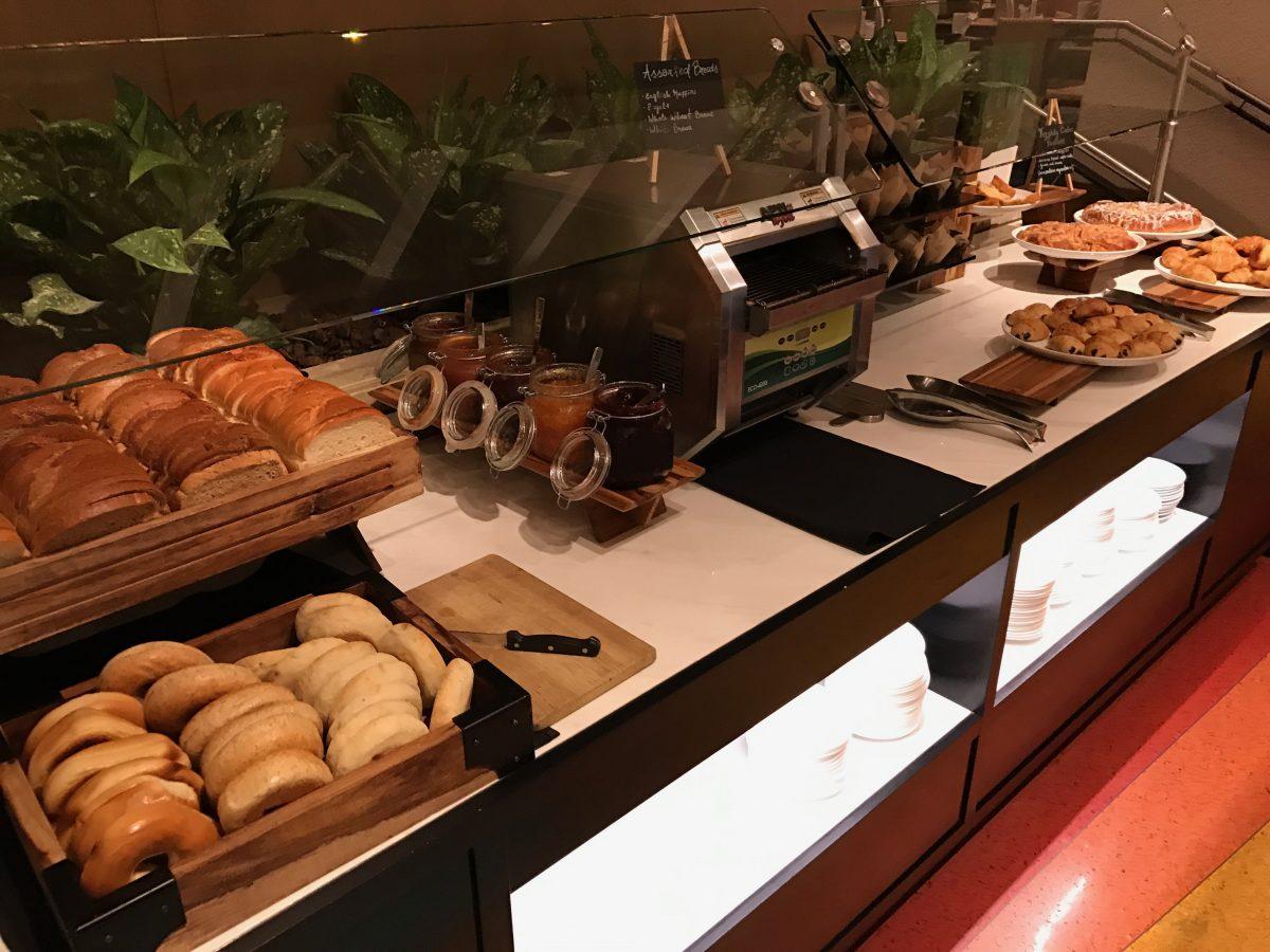 Hilton Miami Airport Frühstück Buffet 2